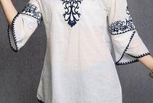 blusa para bordar