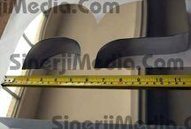 Alüminyum Kutu Harfler / Alüminyum Işıklı, ışıksız, felili, düz kutu harfler ve fiyatları.