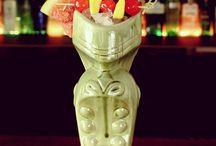 Tiki Cocktails / Tiki Cocktail Recipes, Tiki themed drinks