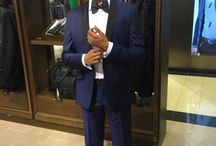 A.G. / Cocktail Suits: a Navy and Black