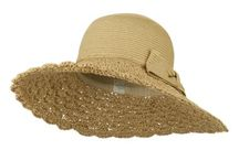 Our Spring Hats / Get ready for Spring season with our new items that scream beach, pool parties, barbecues, and sun! / by e4Hats.com