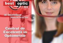 Best Optic Staff / Fă cunoştinţă cu membrii familiei Best Optic. Oameni specializaţi pentru aţi asigura sănătatea ochilor tăi.