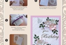 card making / cards that inspire me to create them. Also some cards that i have made myself