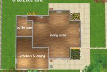 Sims floorplans