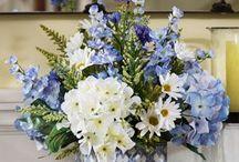 Fleurs de soies