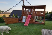 DIY - pirate boat, furtniture / Pirate boat on the garden for kids