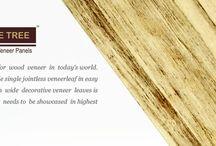 Natural Whole Tree Veneers / Natural Veneer presents 4 feet wide single jointless veneerleaf in easy to use panel form. Obtaining such wide decorative veneers leaves is rarity in today's time and thus it needs to be showcased in highest order of veneers.