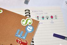 Notebook Las Crispulinas / Libretas para que bocetes, dibujes, escribas o anotes todas aquellas ideas geniales que pasan por tu cabeza.