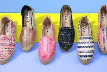 Manebí Espandrilles / Schuhe fürs absolute Sommergefühl: Espadrilles mit typischem Canvas und geflochtener Sohle sind unschlagbare Sommerschuhe mit einer langen Tradition. Das Label MANEBÍ stellt die farbenfrohen Espandrillos von Hand in Spanien her und achtet auf beste Verarbeitung und außergewöhnliche Farben und Multi-Muster. ► http://bit.ly/KONEN-Manebi-Damen-Sommer16-Pin