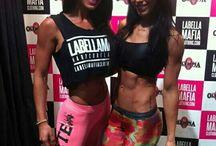 Favourite fitness girls