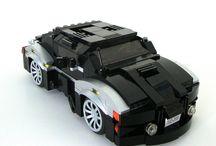 A LEGO auto's