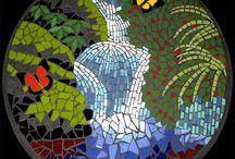 mozaiek schalen / mozaiek / by Joke van der Meer