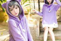 "hoodie / Use coupon code ""cutekawaii"" for 10% off at https://www.sanrense.com/"