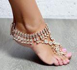 barefoot sandels