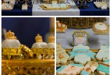 Prince Theme Baby Shower Ideas / Inspiration for planning a Prince theme baby shower