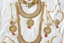 Adorable Bridal Sets / Beautiful collection of Bridal jewellery sets  only on http://bit.ly/1TEmgIr