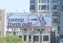 """AAP rolls out outdoor campaign with Global Advertisers / """"Right now entire Mumbai is covered with political campaigns, so creating a clutter free, highly visible outdoor media plans required immense resources. Therefore, outdoor agencies approached us for large hoardings, strategic locations and illuminated sites. Election season has given boost to our business by more than 30 percent."""" Said, Sanjeev Gupta, Global Advertisers."""
