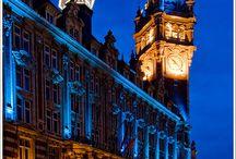Grand place à Lille / Ce tableau regroupera les différentes photographies de la Grand place (@Lille).