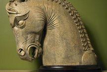 Horses art