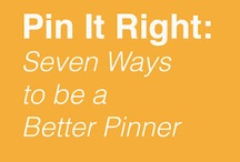pinterest etiquette & tips / by Mary Beth Norman