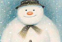 snowman / by Borah Pavick