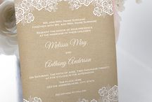 Invites / Wedding invitations
