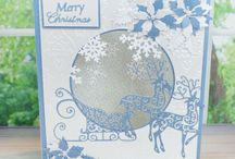 Tattered Lace Christmas Show / Here you can find card samples from our lovely Christmas Show 2015. For more information please visit www.tatteredlace.co.uk / by Tattered Lace®