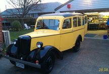My '47 Bradford van ... tidied and on the road after 40 years