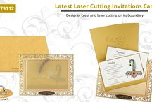 LASER CUT CARDS / Laser Cut Invitation Cards : Add more values to your invitations