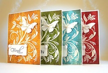 handcrafted cards  / by Tricia Brewer