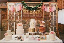 Cake & Sweet Tables