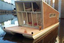 Scandi Houseboat