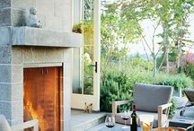 Fire Pits, Fire Places, Wood Storage