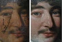 restauration des tableaux