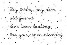 Days of the week ~ Friday ♥6