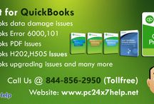QuickBooks Customer Support / QuickBooks is an accounting solution which resolves various accounting issues. While using QuickBooks, people usually have found many issues such as QuickBooks data damage issues, Quickbooks Error 6000,101, Quickbooks PDF Issues, QuickBooks Unrecoverable Errors, QuickBooks sync manager error, QuickBooks H202,H505, QuickBooks upgrading issues, QuickBooks online banking issues etc. Get instant support for all kinds of QuickBooks issues.