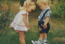 Kinderen in de kunst
