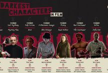 Top 10 Darkest Characters In Film [Infographic] / An infographic created by the New York Film Academy highlighting 10 of the darkest characters in film history.