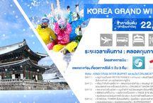 KOREA GRAND WINTER 5D3N 22,900.-