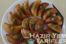 Türk Mutfağı / hazır yemek tariflerinden seçme lezzetler
