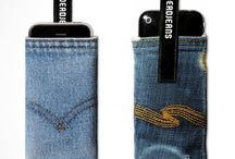 porta cellulari di stoffa