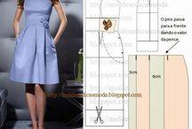 Membuat gaun