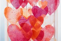 Valentine's Day Kids' Projects and Activities / Fun V-Day stuff for kids to do - decor, food, valentines and more.