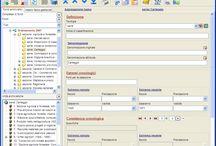 Arianna3 / Gli screenshot di Arianna3, il software di Hyperborea per la descrizione, riordino e inventariazione di archivi storici e di deposito