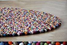 Plstěný koberec