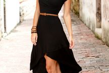 Dressed in black / little black dress