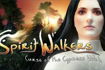 Spirit Walkers: Curse of the Cypress Witch / After their hiking trip takes a tragic turn, a group of friends is forced to travel between realms to undo an old wrong and save the Cypress Witch. New video game from Orchid Games.