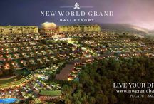 New World Grand Bali Resort / New World Grand Bali Resort in the making... Located in Jln Uluwatu Raya, in 10,8 ha land.  Spectacular Sunset, next to Golf Course, luxurious facilities.. Coming soon 2017.  Luxury Suites & Villas available to purchase, pls contact +6281808050505  Link : http://youtu.be/9Jng_b7NarE  Www.nwgrandbali.com