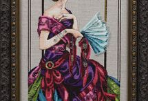 cross stitch(Mirabilia)