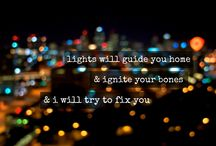 "'Lights' / ''...will guide you home..."" / by Gina Hagedorn"